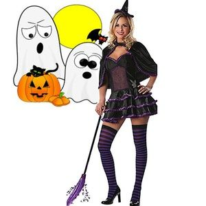 Sexy Playboy Be Witching Halloween Costume Womens